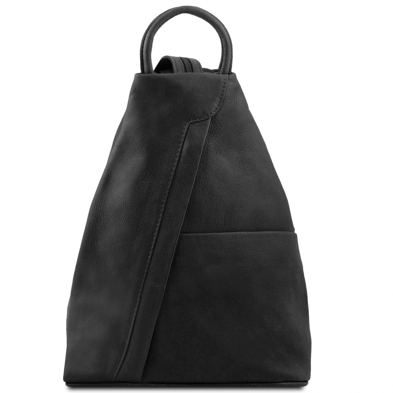 Tuscany Leather Shanghai Zaino in pelle morbida Blu scuro 963_1_107