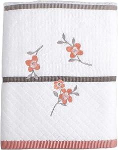 SKL Home Coral Garden Bath Towel, Ivory