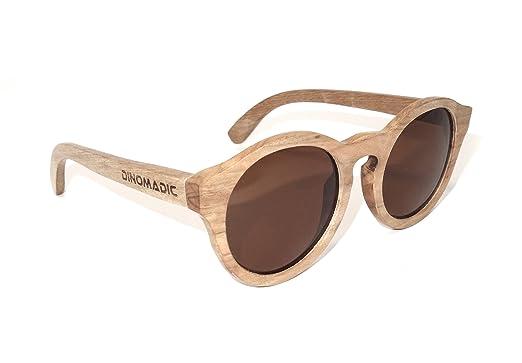 Unisex Polarisierte Akazien Holz Sonnenbrille mit Bambus-etui LFwQMppD