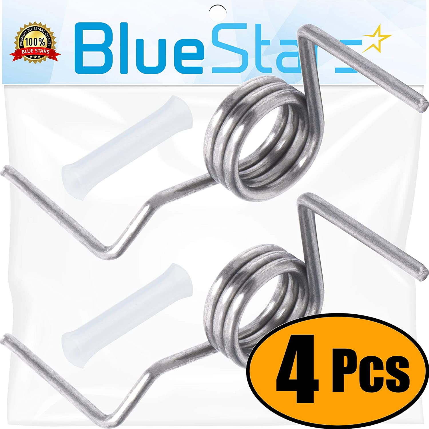 Ultra Durable DA81-01345B & DA81-01346A Refrigerator Door Spring Set Replacement by Blue Stars - Exact Fit for Samsung Refrigerators - Replaces DA61-07471A, DA81-01345A