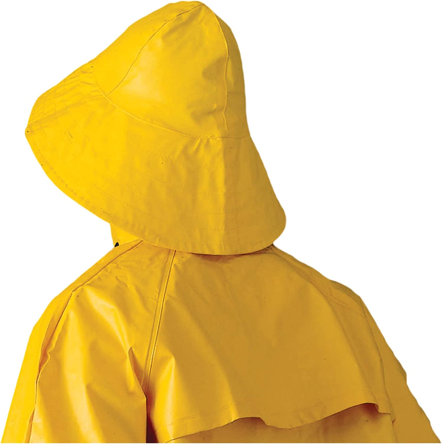 RAIN SLICKER Yellow Full Length with Cut Out Back to Protect Saddle