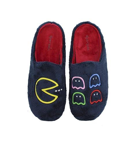 Garzón - Zapatillas de casa diseño comecocos - Marino, 41: Amazon.es: Zapatos y complementos