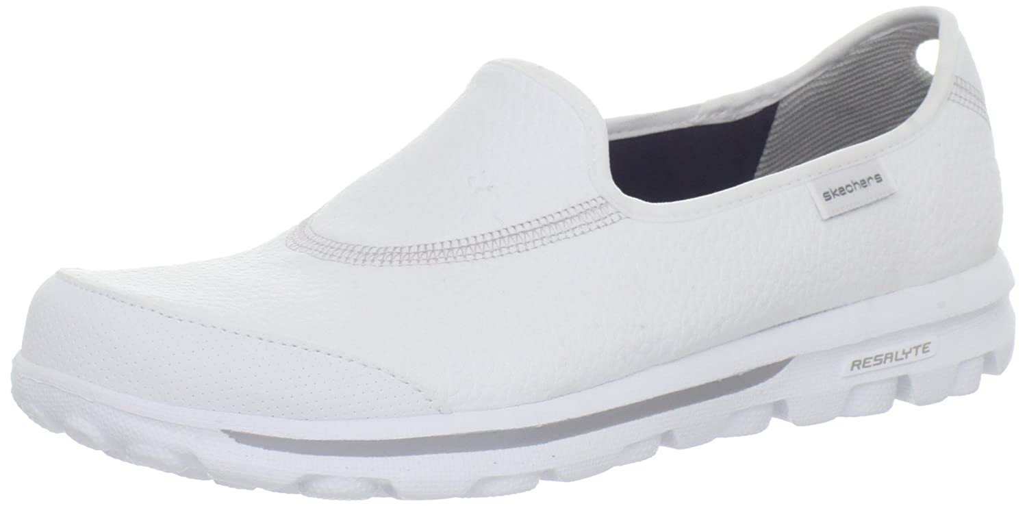 skechers ladies go walk blanche