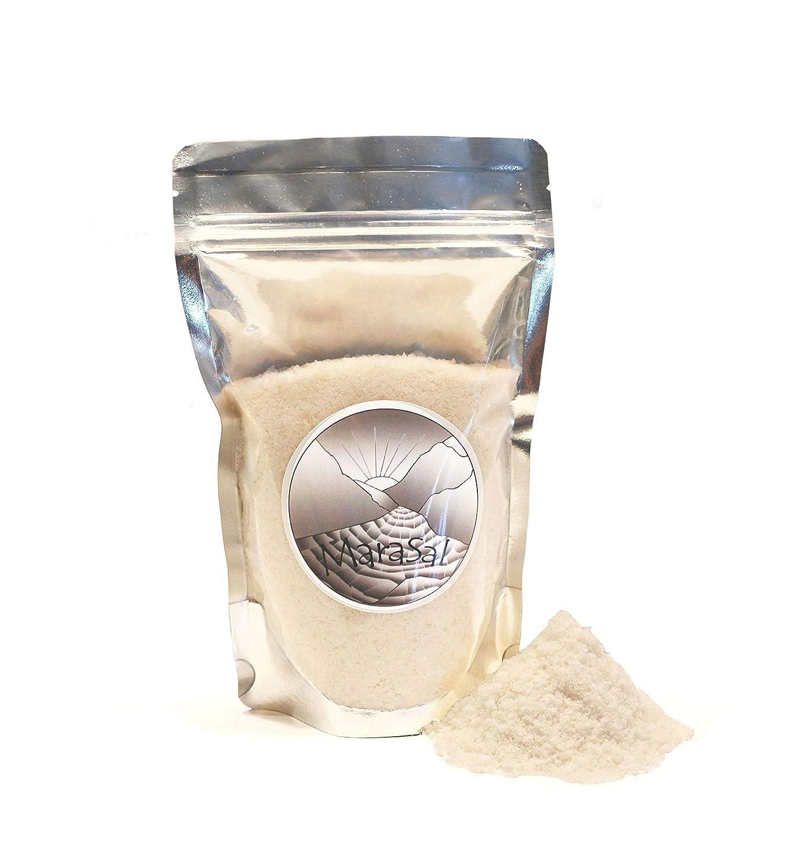 PERUVIAN HERB MaraSal - Extra Fine Gourmet Sea Salt from Maras, Peru 14 oz