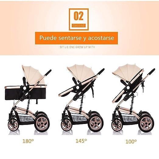 Amazon.com: YRYRGXQ cochecito de bebé para niños cochecito ...