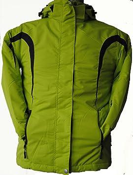 Joluvi - Chaqueta torca verde, talla t4