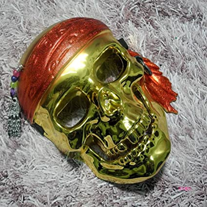 FHDUY Mascara De Halloween Mascara Predator Skull Guerrero Guerra Heteromorficas Casco Nosotros Armado con Hierro Sangre