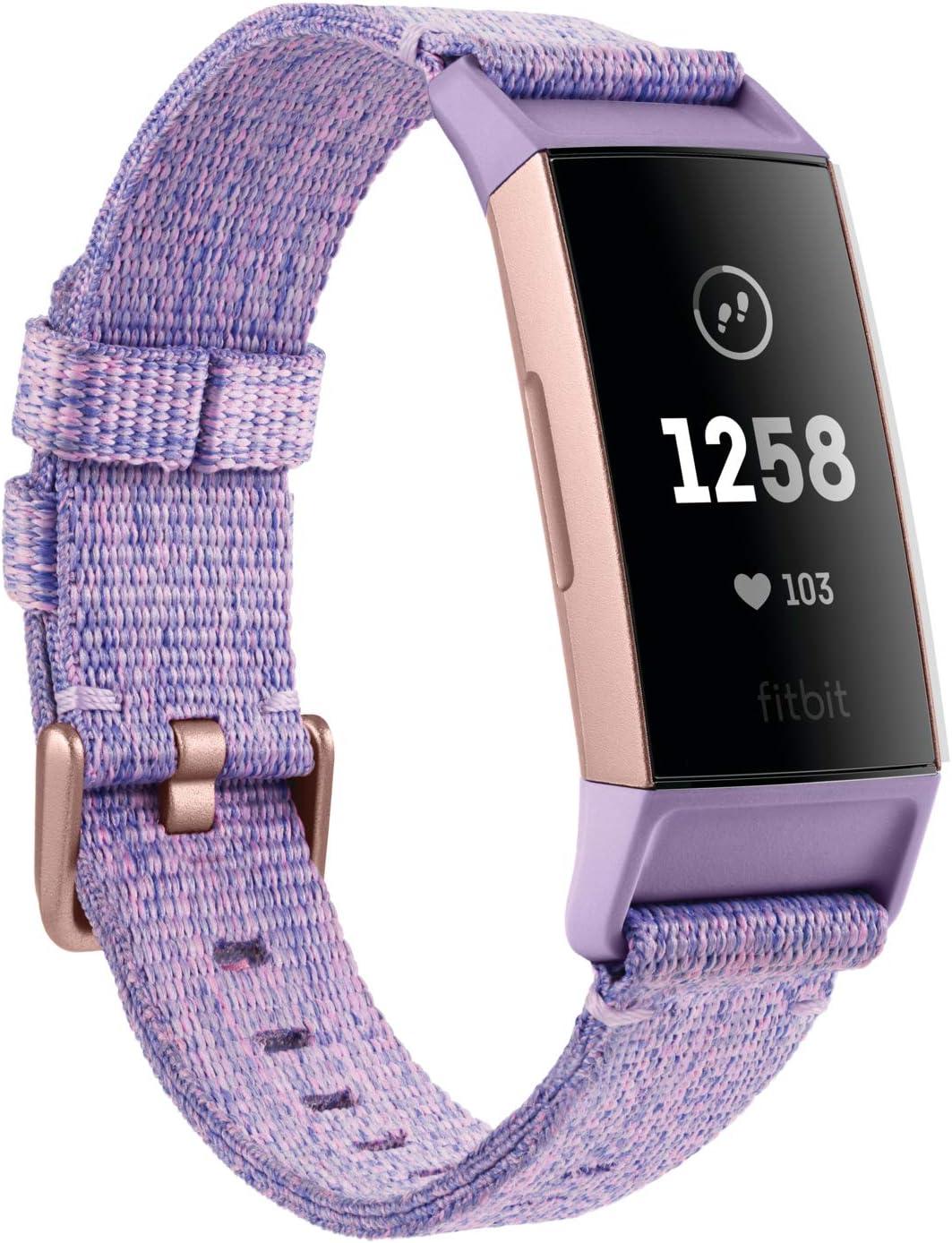 Fitbit - Charge 3 - Bracelet d'activité Forme et Sport : Jusqu'à...