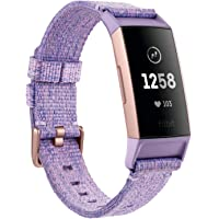Fitbit Charge 3 Fitness Activity Tracker Special Edition (Lavender Woven)