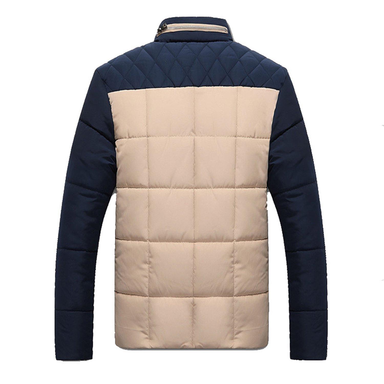Sonjer New Winter Jacket Men Cotton Warm Causal Parkas Male Outerwear Windbreak Jackets Coats Clothing 4XL