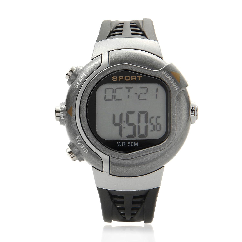 O.R.® (Old Rubin) Reloj con pulsómetro e indicador de ...