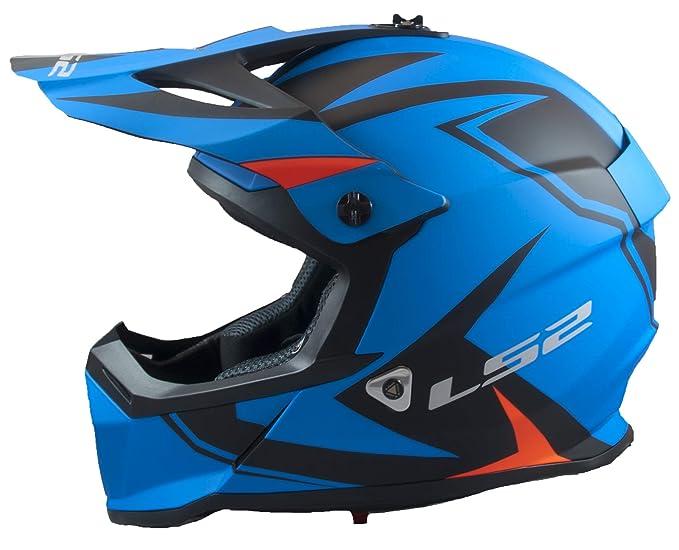 Amazon.com: LS2 Fast Mini Twoface - Casco de moto para ...