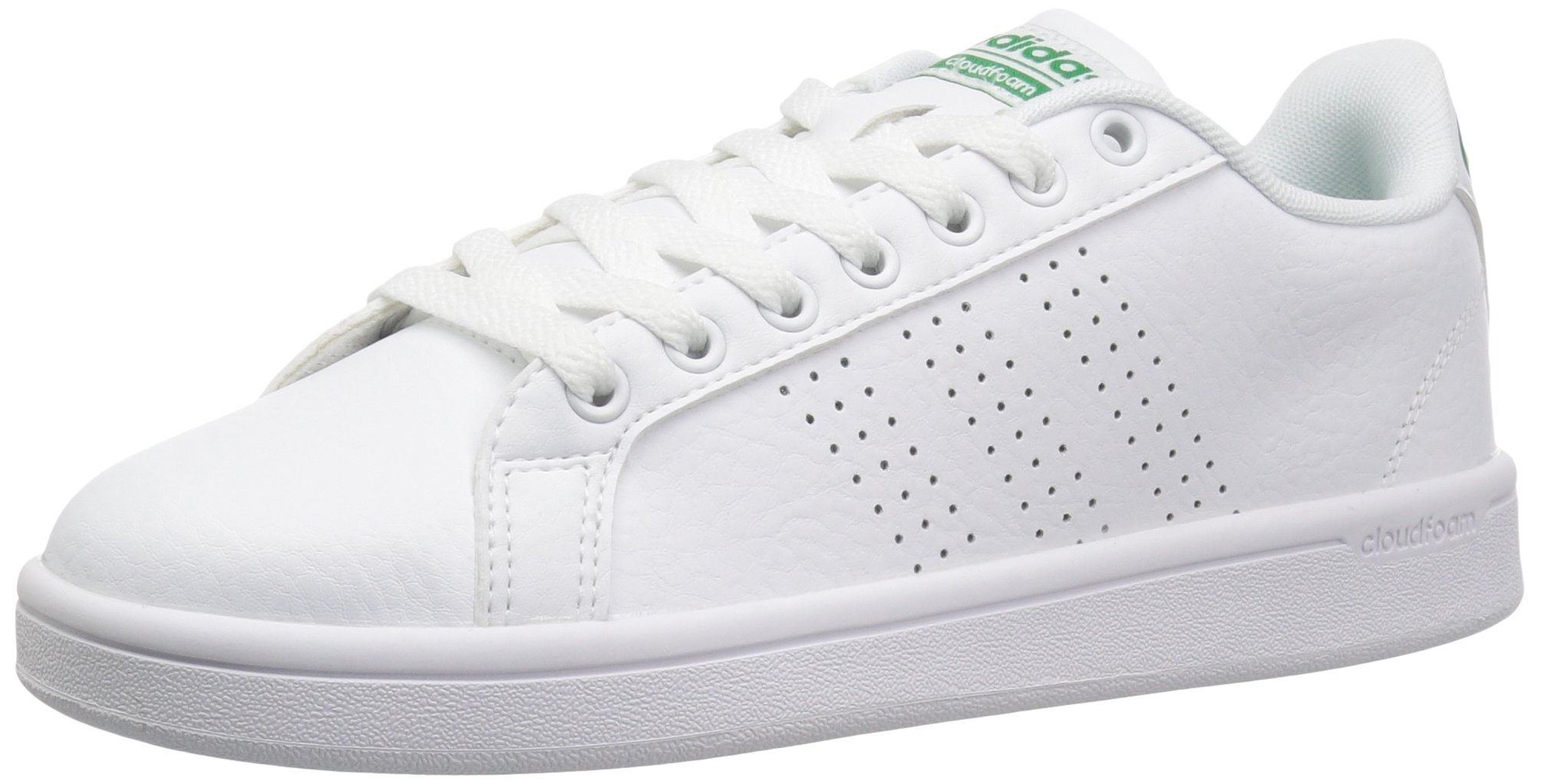 Details about ADIDAS MEN'S CLOUDFOAM ADVANTAGE CLEAN SNEAKER WHITEGREEN 10 M US