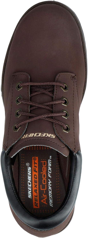 Skechers Toric Bereno Memory Foam Hommes Chaussures De Sécurité À Lacets