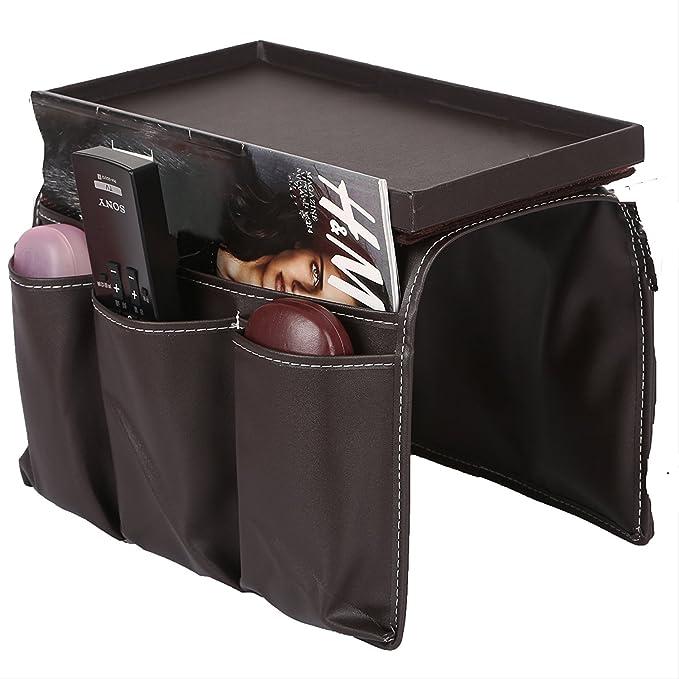Organizador con bolsillos para sofá, ideal para mandos y otros objetos (19 x 15 x 30 cm), de Likea
