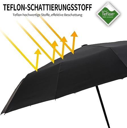 Sourcingmap Voiture Auto Pliable Imperm/éable Bouton dappui Parapluie Organisateur Sac de Stockage