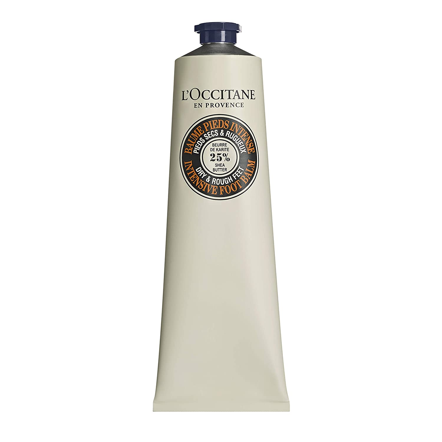 L'Occitane Shea Butter Intensive Foot Balm with 25% Shea Butter and Allantoin for Dry to Very Dry Feet, Net Wt. 5.3 oz.