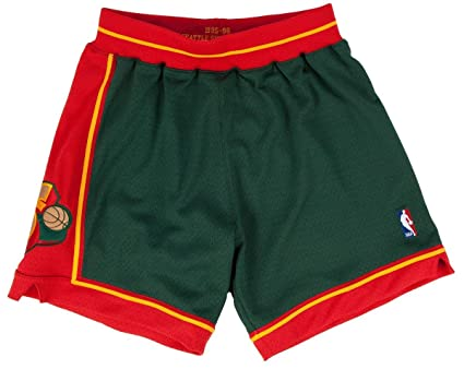b3ab7d49b441 Amazon.com   Mitchell Ness Seattle SuperSonics 1995-1996 NBA ...