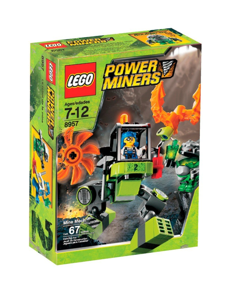 LEGO (Power Miners Mine Mech (Power Miners No. 2) 8957 [parallel import goods] (japan import)