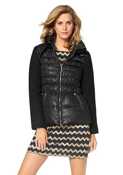 Amanda Ryan Damen Designer Daunenjacke, schwarz: