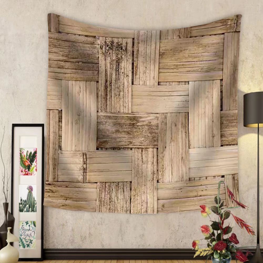 Niasjnfu Chen Custom tapestry Thai Bamboo Weaving Texture - Fabric Wall Tapestry Home Decor by Niasjnfu Chen