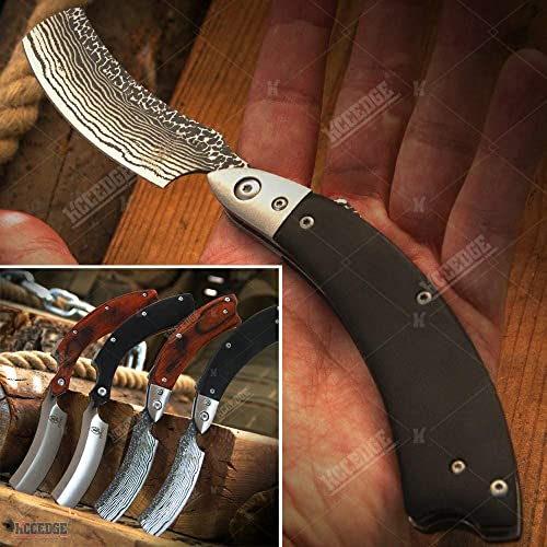 KCCEDGE BEST CUTLERY SOURCE EDC Pocket Knife Camping Accessories Razor Sharp Edge Folding Knife Camping Gear Survival Kit 57864