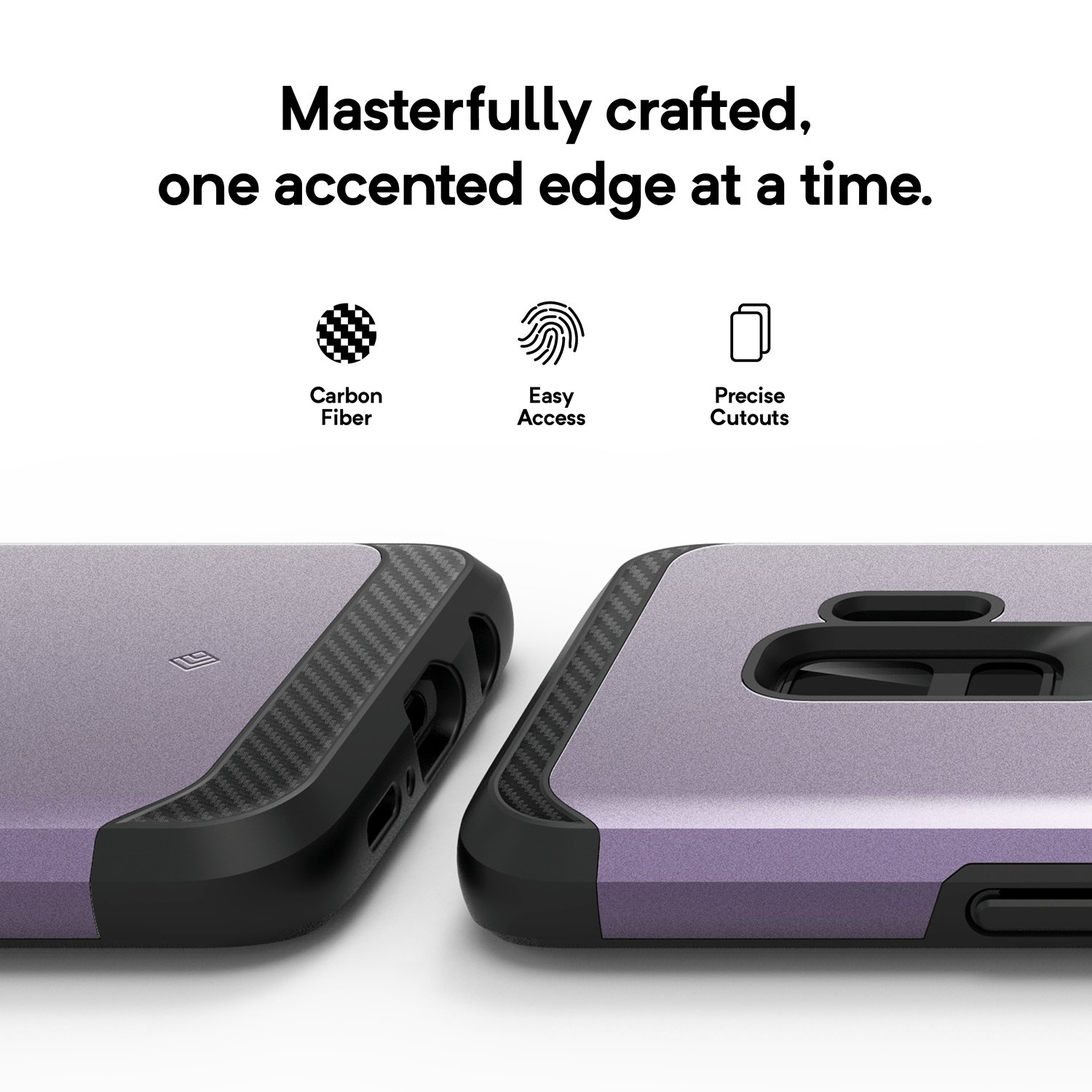 Caseology Legion Series Galaxy S9 Case Reinforced Hardcase Anti Shock Vanvo Iphone 6 Plus Black Protection Lilac Purple Cell Phones Accessories