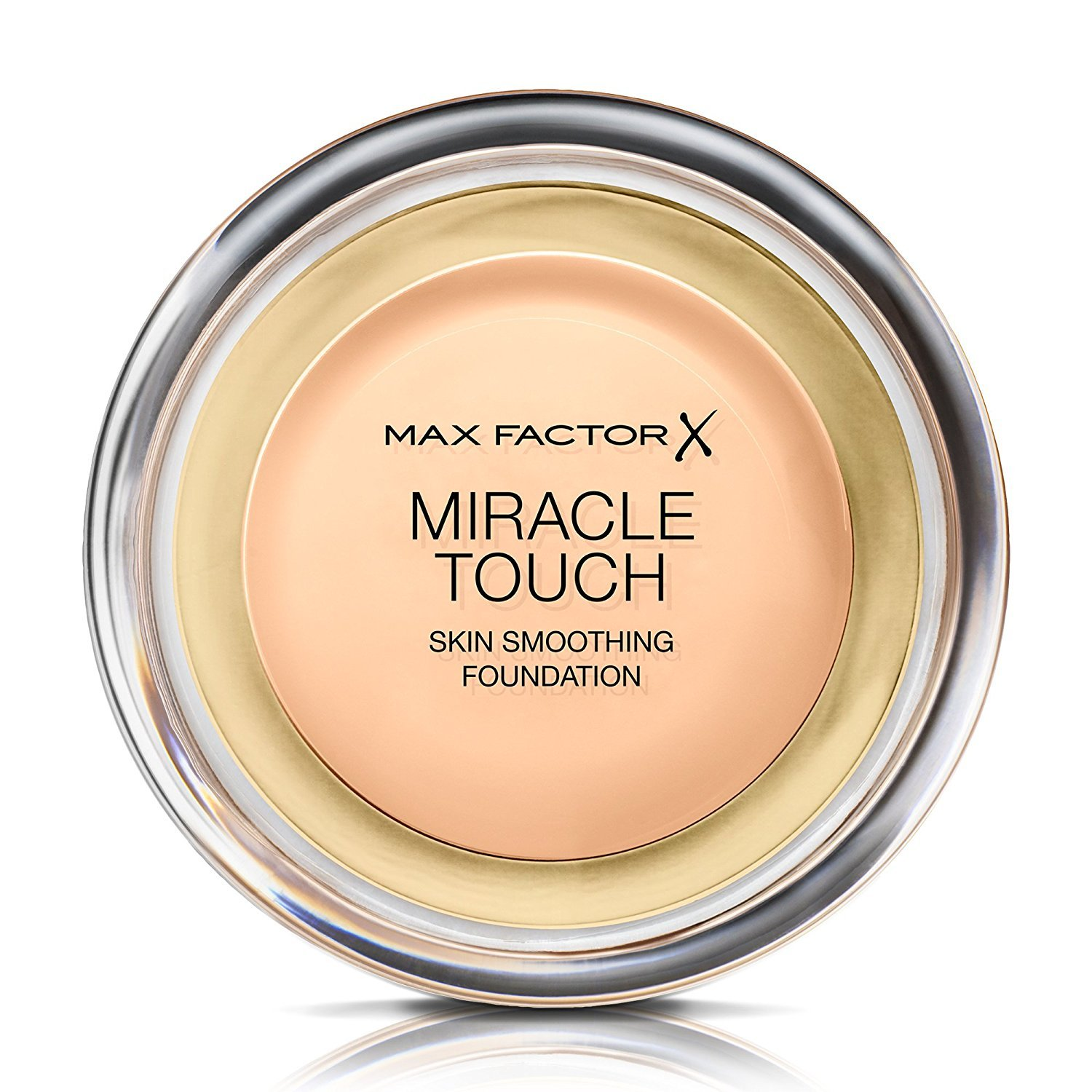 3 x Max Factor Miracle Touch Skin Smoothing Foundation 11.5g - 45 Warm Almond
