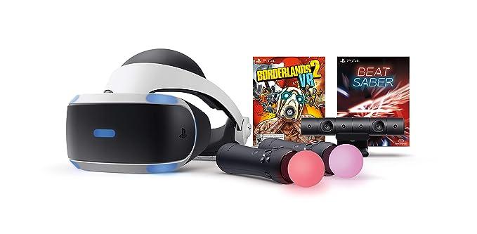 PlayStation VR - Borderlands 2 and Beat Saber Bundle - PlayStation 4