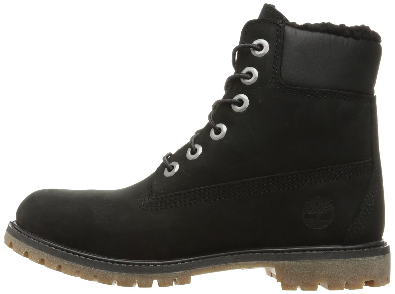 6 Pouces Timberland Boot Premium Noir Femmes 9ppMwY