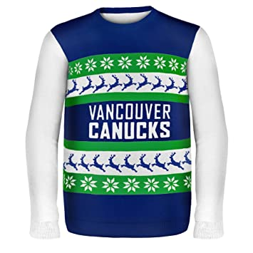 Vancouver Canucks - One Too Many Ugly Christmas Sweater - Large  Amazon.ca   Sports   Outdoors c63f9faeb
