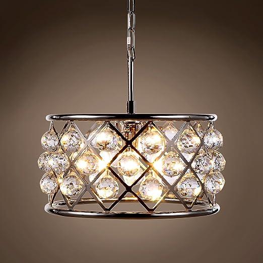 Amazon.com: Aro de cristal con 4 luces de 16 pulgadas ...