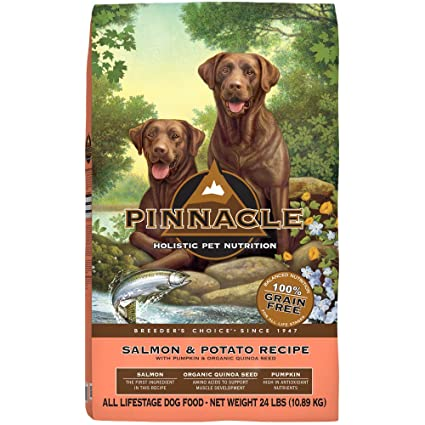 amazon com pinnacle salmon and potato grain free formula dog food