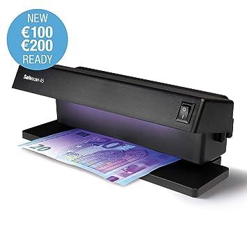 Safescan 45 - Detector UV de Billetes Falsos, verificación de Tarjetas de crédito y Documentos de Identidad: Amazon.es: Bricolaje y herramientas