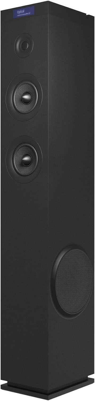 Energy Sistem Tower 8 g2 Altavoz de Suelo con Sonido Hi-Fi y Bluetooth (120 W, Pantalla LCD, Entrada óptica, USB/microSD, FM RDS y Carga USB) - Negra