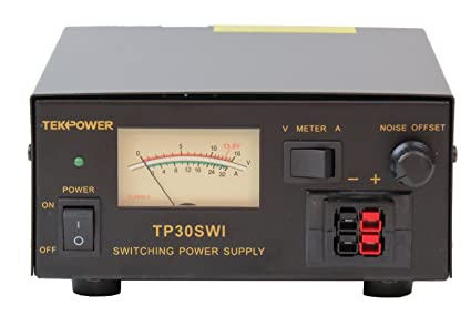 TekPower Analog Display TP30SWI 30 Amp DC 13 8V Switching Power Supply with  Noise Offset