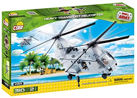COBI Small Army Heavy Transport Helicopter Kit