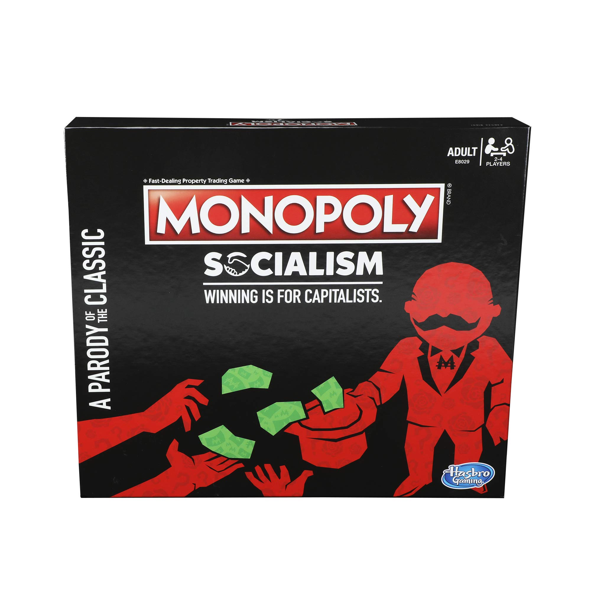 Monopoly Socialism Board Game Parody Adult Party Game by Monopoly