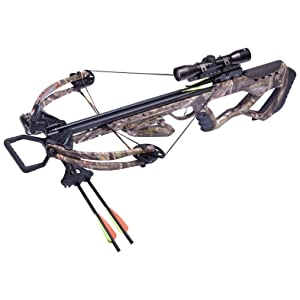 CenterPoint Tormentor 370 Crossbow Package in Camo