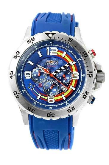 Reloj Aviador patrulla Ascua esf. azul