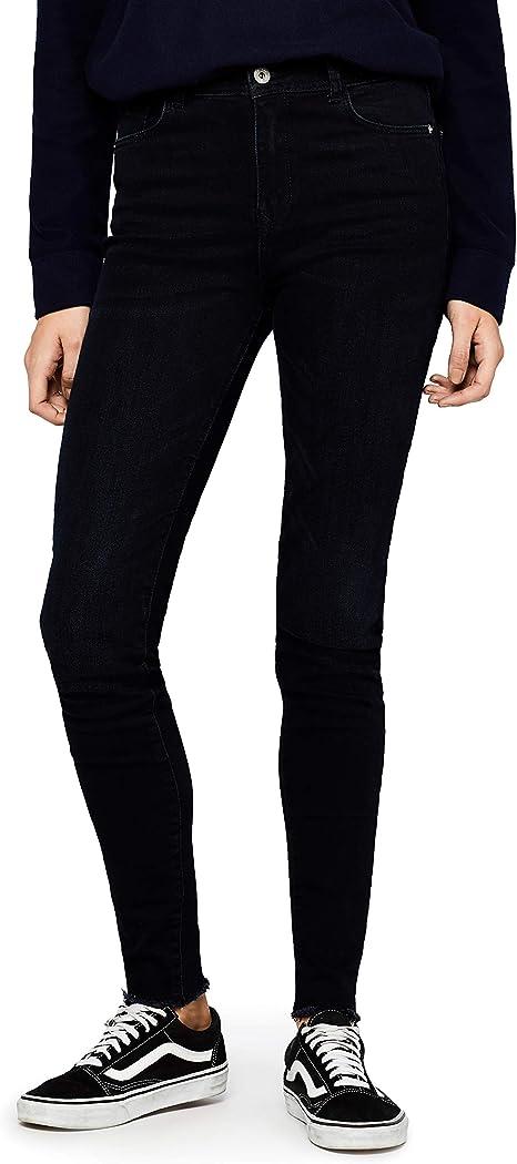 Amazon Marke: find. Damen Skinny Jeans mit Fransensaum