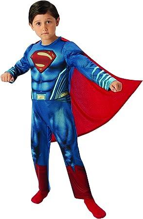 Fancy Ole – Disfraz de Superman Dawn of Justice Deluxe para niño ...