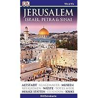 Vis-à-Vis Reiseführer Jerusalem. Israel, Petra & Sinai: mit Extra-Karte & Mini-Kochbuch