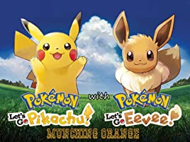 Amazon Com Watch Pokemon Let S Go Pikachu Eevee With Munching