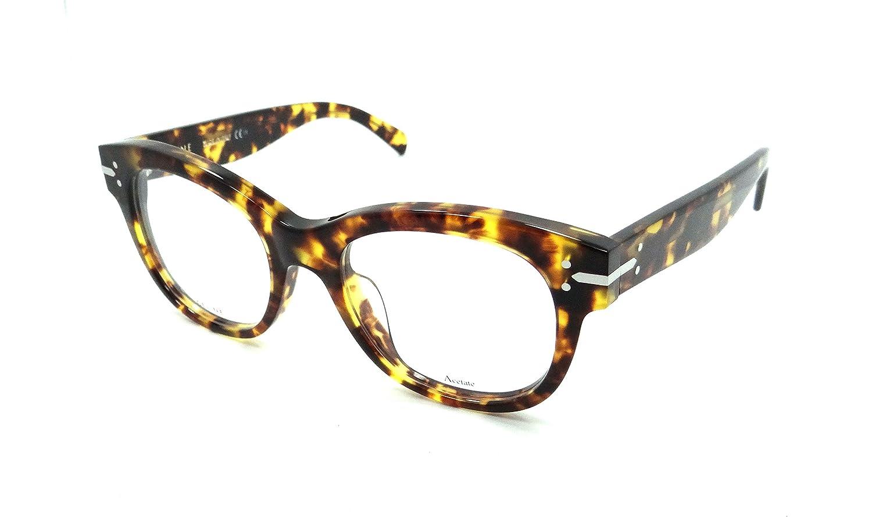 b9cc678c95a7 Amazon.com  Celine CE 41350 Eyeglasses 0E88 Blonde Tortoise  Shoes