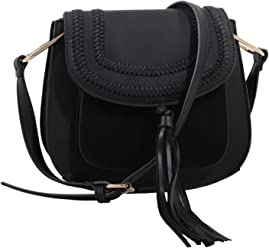 MKF Collection Riga Designer Saddle Bag by Mia K. Farrow