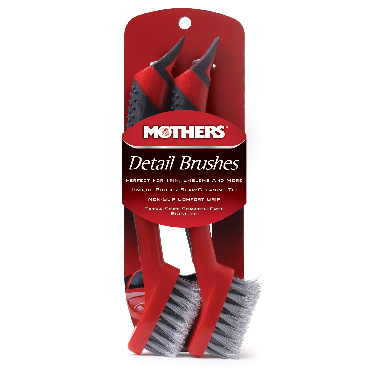 Mothers Detail Brush Set - 2 Pack 156200
