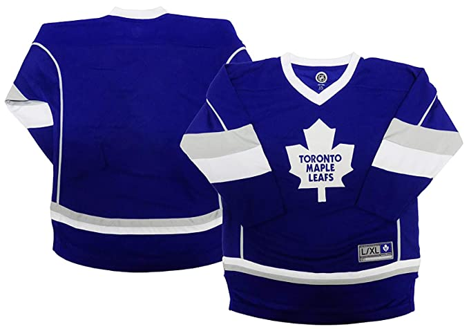 quality design 4f9d4 052a5 Toronto Maple Leafs Blank Blue Men's Home 1 Stripe Team Apparel Jersey