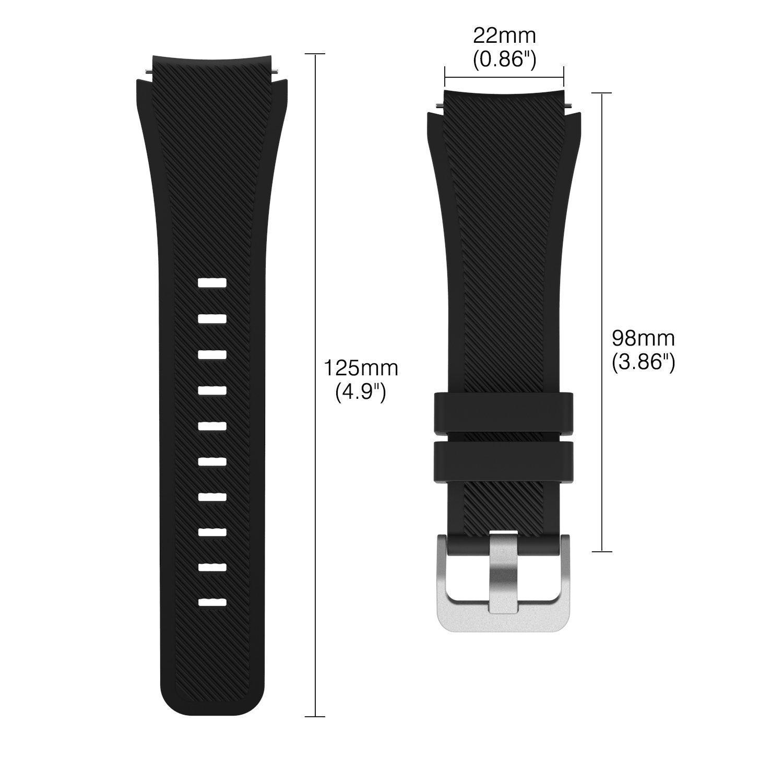 Bracelet de montre interchangeable Ceston Classic pour la Smartwatch Fossil Q Explorist: Amazon.fr: High-tech