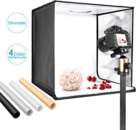 Neewer Foto Estudio Caja de Luz 40cm Disparo Carpa Brillo ...